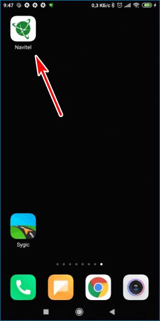 Иконка Navitel