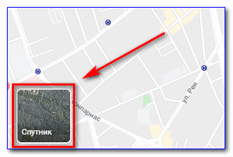 Иконка Спутник Google
