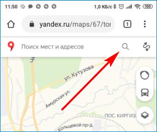 Лупа Yandex