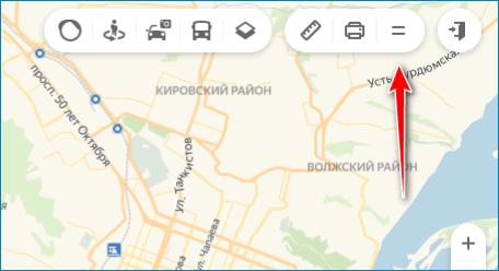 Нажмите на кнопку Yandex