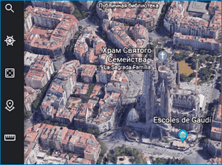 Поиск по координатам Google Earth