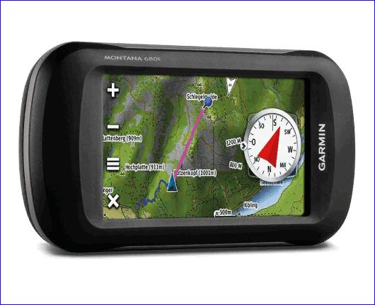 Портативный навигатор