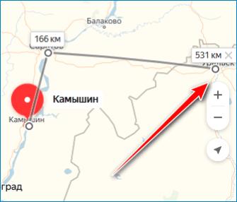 Продление маршрута Yandex