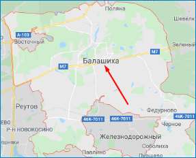 Стартовая точка Google Maps