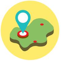 Точка на карте Yandex