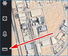 Включить линейку Google Earth