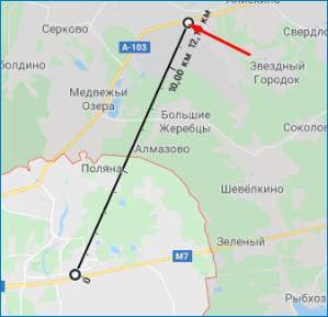 Второй объект Google Maps