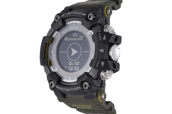 Casio G SHOCK с GPS