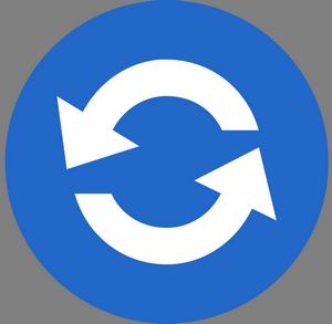 Иконка обновления приложения
