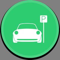 Иконка парковка