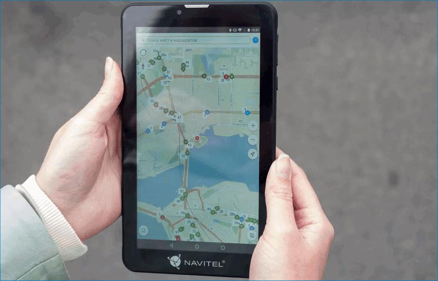 Навигатор планшет