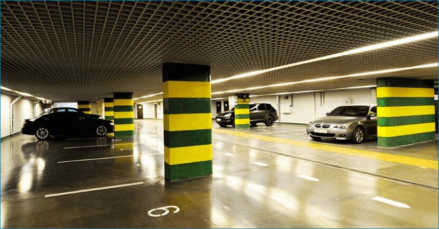 Подземный паркинг Москва сити
