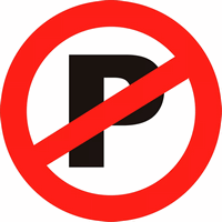 Запрет парковки иконка