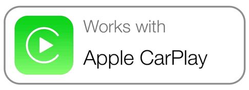 Значек совместимости приложения с Apple Carplay