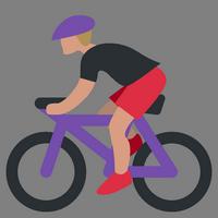велосипедист иконка